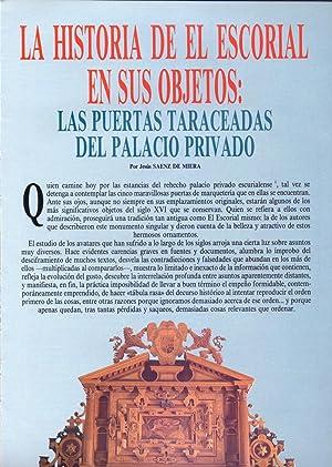 LA HISTORIA DE EL ESCORIAL EN SUS: Jesus Saenz de