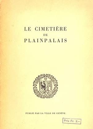 LE CIMETIERE DE PLAINPALAIS: Louis Blondel (Illustrations