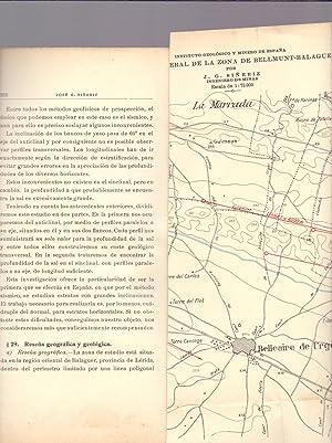 INVESTIGACION SISMICA EN EL ANTICLINAL DE BELLMUNT (CATALUÑA)- CON MAPA DESPLEGABLE DE LA ...