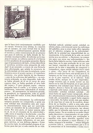 SOLEDAD, DOLOR Y ESPERANZA EN EL PABELLON: Agustin Albarracin Teulon