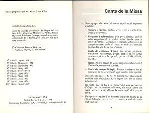 CANTORAL (994 CANCIONES EN CATALAN): Albert Taule Viñas