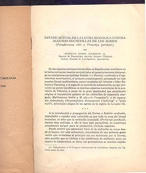 ESTADO ACTUAL DE LA LUCHA BIOLOGICA CONTRA: Federico Gomez Clemente