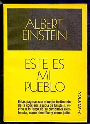 ESTE ES MI PUEBLO (VARIOS TRABAJOS DEL: Albert Einstein