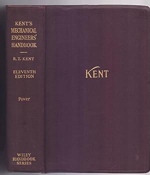 KENT S, MECHANICAL ENGINEERS HANDBOOKS: William Kent /