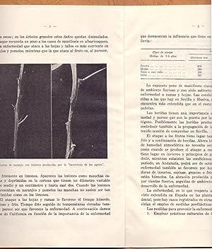 BACTERIOSIS DE LOS AGRIOS: Jose Maria del