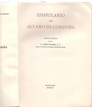 EPISTOLARIO DE ALVARO DE CORDOBA: Alvaro de Cordoba