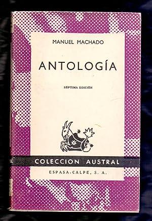 ANTOLOGIA: Manuel Machado