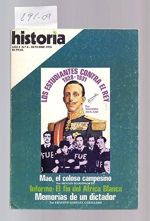 REVISTA HISTORIA 16, NUMERO 6 - LOS: Ernesto Gimenez Caballero