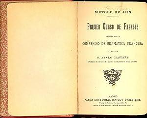 METODO DE AHN - PRIMER CURSO DE: D. Atalo Castañs
