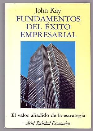 FUNDAMENTOS DEL EXITO EMPRESARIAL, EL VALOR AÑADIDO DE LA ESTRATEGIA: John Kay