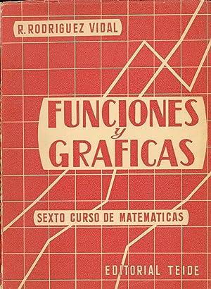 FUNCIONES Y GRAFICAS - SEXTO CURSO DEMATEMATICAS - ANALISIS MATEMATICO, GEOMETRIA ANALITICA ...