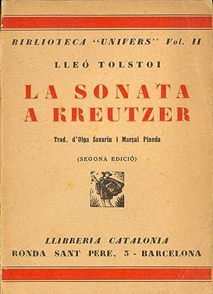 LA SONATA A RREUTZER: Lleo Tolstoi