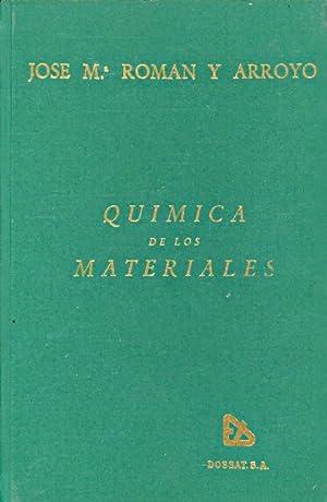 QUIMICA DE LOS MATERIALES PARA LA INGENIERIA AERONAUTICA: Jose M. Roman y Arroyo