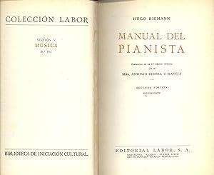 MANUAL DEL PIANISTA: Hugo Riemann