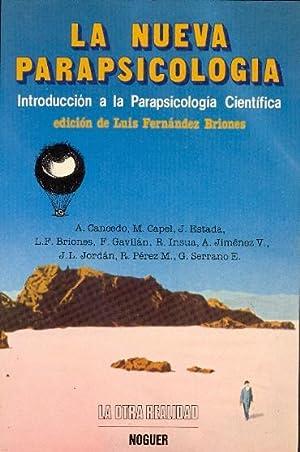LA NUEVA PARAPSICOLOGIA - INTRODUCCION A LA: Adolfo Cancedo -