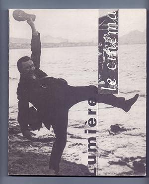 LUMIERE LE CINEMA. PRELUDE AU SIECLE DU: Bertrand Tavernier, Bernard