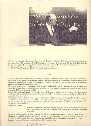 LA MANO Y LA PALABRA: Cristobal Pera