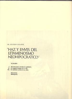 HAZ Y ENVES DEL LETAMENOISMO NEOHIPOCRATICO: Silverio Palafox