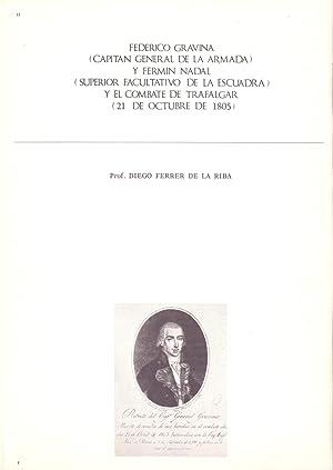 FEDERICO GRAVINA (CAPITAN GENERAL DE LA ARMADA): Diego Ferrer de