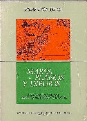 MAPAS PLANOS Y DIBUJOS DE LA SECCION: Pilar Leon Tello