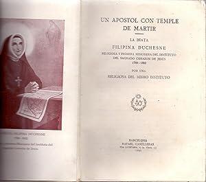 UN APOSTOL CON TEMPLE DE MARTIR LA: Una Misionera del