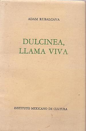 DULCINEA LLAMA VIVA (POESIA): Adam Rubalcava