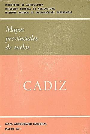 MAPAS PROVINCIALES DE SUELOS - CADIZ -: Ministerio de Agricultura