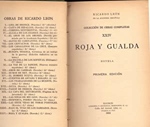 ROJA Y GUALDA: Ricardo Leon