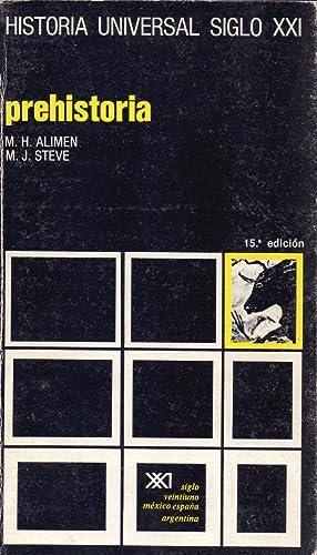 PREHISTORIA - TECNICAS E HISTORIA DE LA ARQUEOLOGIA PALEOANTROPOLOGIA -: Marie-Henriette Alimen y P...