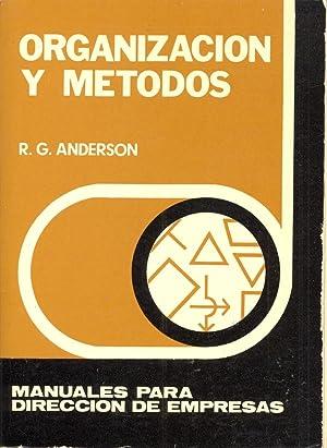 ORGANIZACION Y METODO: R. G. Anderson