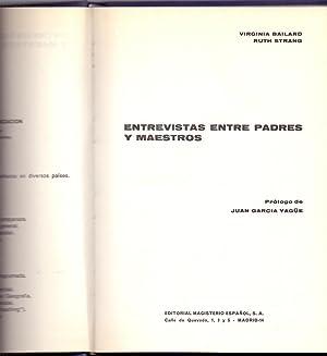 ENTREVISTAS ENTRE PADRES Y MAESTROS: Virginia Bailard y