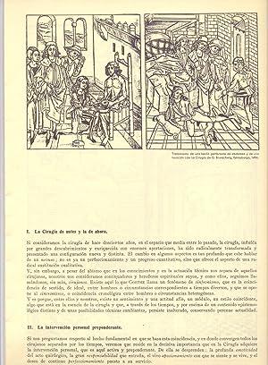 LOS ORIZONTES DE LA CIRUGIA: Profesor Dr. P. Piulachs