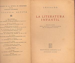 LA LITERATURA INFANTIL: Jesualdo