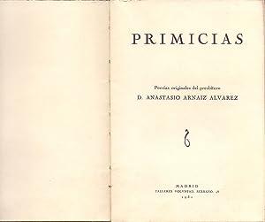 PRIMICIAS: Anastasio Arnaiz Alvarez