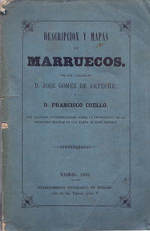 DESCRIPCIO Y MAPAS DE MARRUECOS - CON: Jose Gomez de