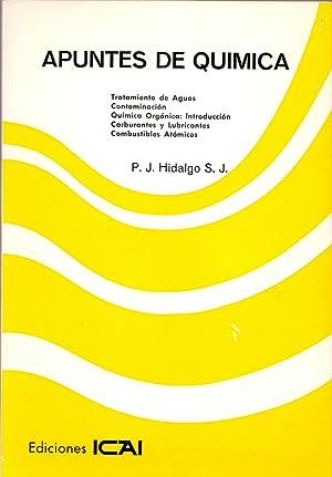 APUNTES DE QUIMICA (Tratamiento de aguas, contaminacion,: J. Hidalgo