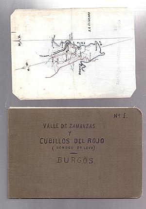 VALLE DE ZAMANZAS Y CUBILLOS DEL ROJO (SONDEO DE LEVA) BURGOS (CUADERNO NUMERO 1): Cuaderno Numero,...