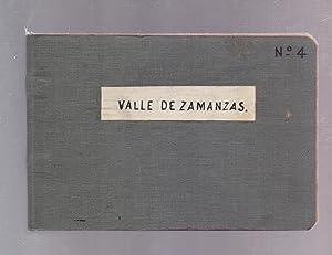 VALLE DE ZAMANZAS (BURGOS) - CUADERNO NUMERO 4 -: Cuaderno Numero, 4, (estaciones, altura,puntos,...