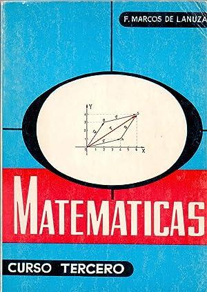 MATEMATICAS Tercer curso: F. Marcos de