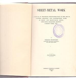 SHEET-METAL WORK - A MANUAL OF PRACTICAL: William Neubecker
