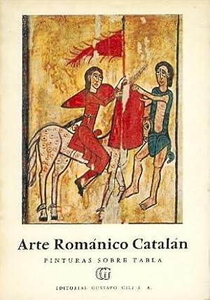 ARTE ROMANICO CATALAN.- PINTURAS SOBRE TABLA (COLECCION MINIA, NUMERO-59): Juan Ainaud