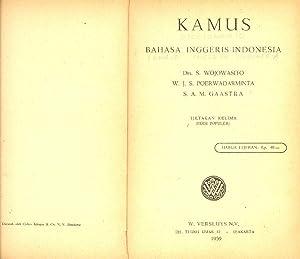KAMUS - BAHASA INGGERIS-INDONESIA: Drs. S. Wojowasito-