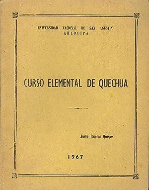 CURSO ELEMENTAL DE QUECHUA: Justo Ruelas Quipe