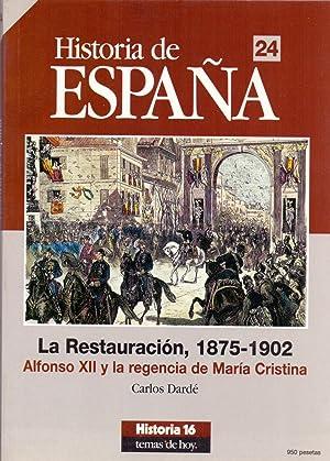 HISTORIA DE ESPAÑA 24 - LA RESTAURACION 1875-1902 (Alfonso XII y la regencia de Maria ...