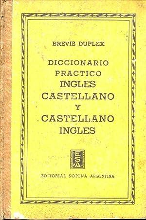 DICCIONARIO PRACTICO INGLES CASTELLANO Y CASTELLANO INGLES: Brevis Duplex