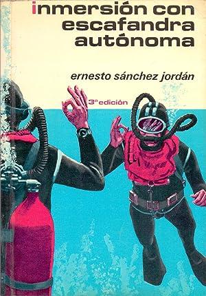 INMERSION CON ESCAFANDRA AUTONOMA - manual teorico-practico (coleccion herakles): Ernesto Sanchez ...