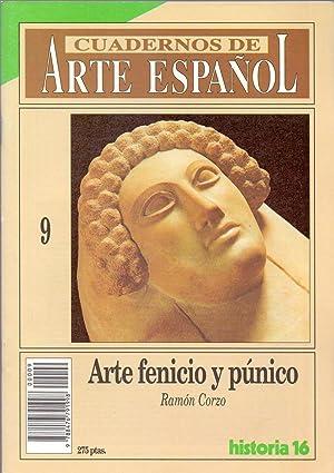 ARTE FENICIO Y PUNICO (Coleccion cuadernos de arte español num 9): Ramon Corzo