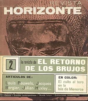 REVISTA HORIZONTE, NUMERO 2 - (EL CULTO: Louis Pauwels, Jacques
