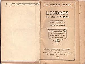 LES GUIDES BLEUS LONDRES LONDRES ET SES: Findlay Muirhead y