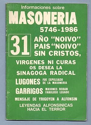 VIRGENES NI CURAS OS DESEA LA SINAGOGA RADICAL -- LUGONES FUE EXPULSADO DE LA MASONERIA.: REVISTA: ...